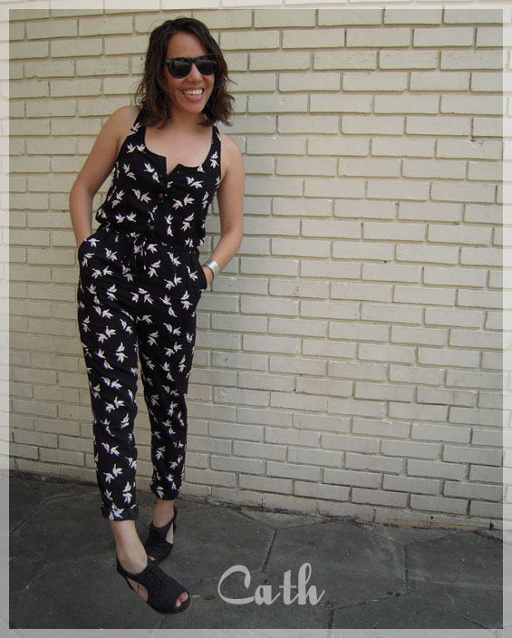on Cath H&m Romper