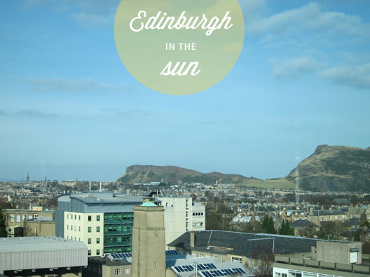 Edinburgh-sunny-day
