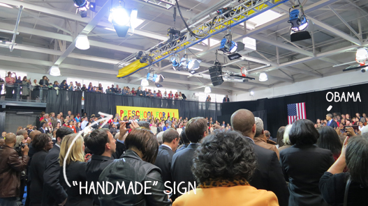 POTUS and sign