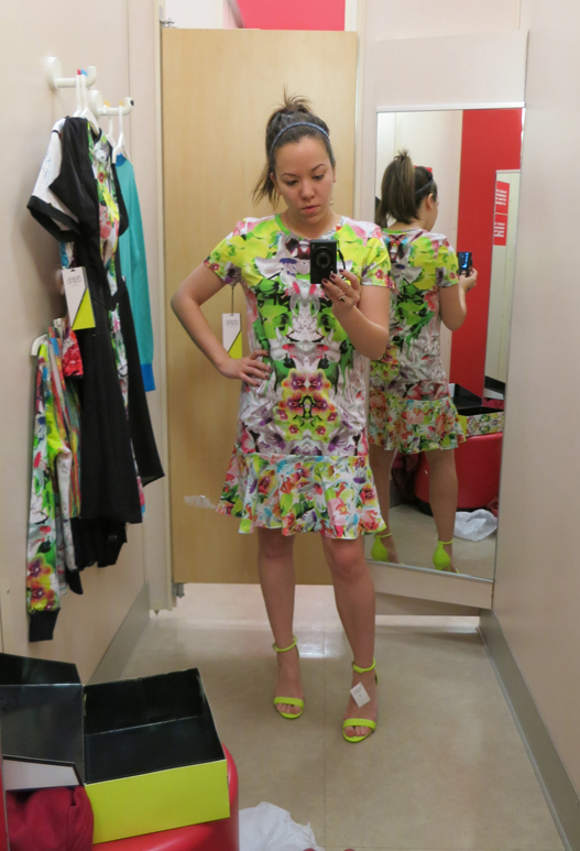 Prabal Gurung for Target drop waist dress