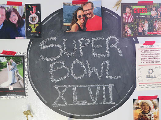 Super Bowl Party decor