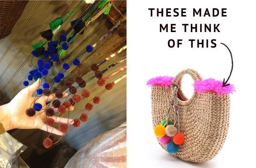 Pom-pom-accessories