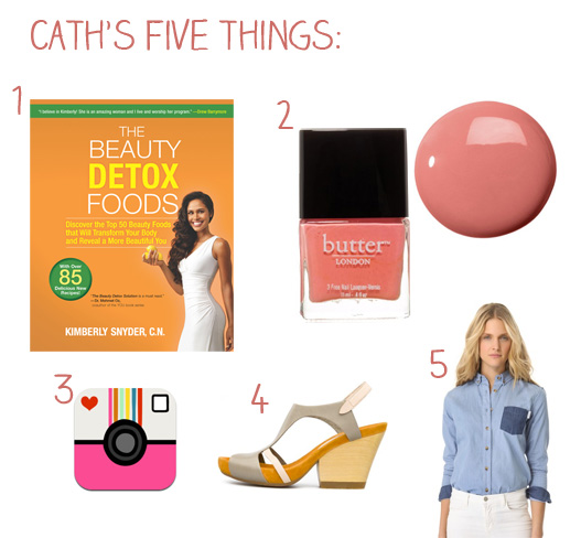 Caths top fives