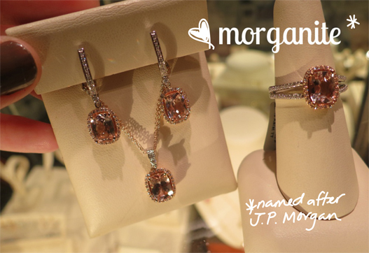 Worthmore Jewelers morganite stones