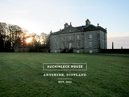 Auchinleck-house