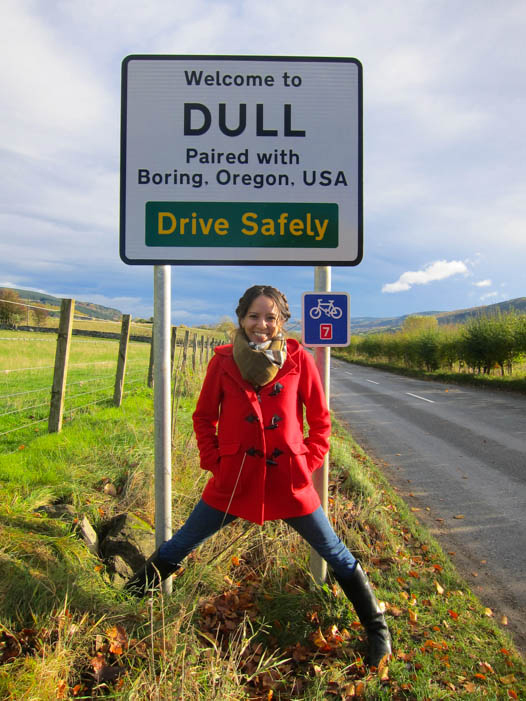 Dull Scotland