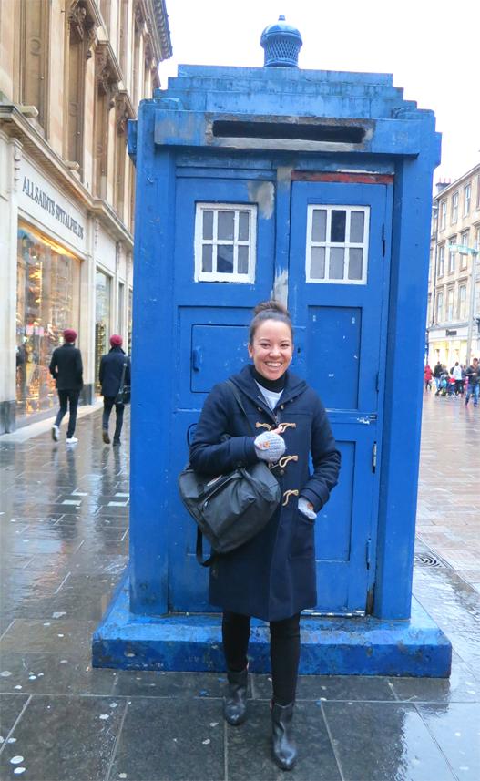 DrWho box Glasgow