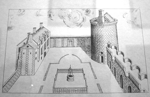 Roslin-castle-drawing