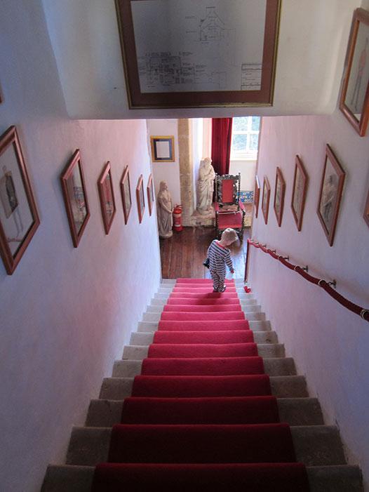 Roslin-castle-stairs