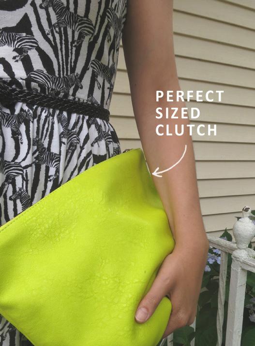 Neon clutch copy