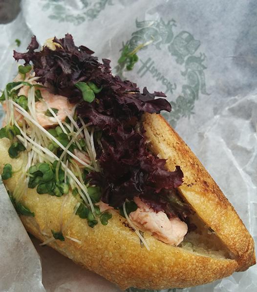 Harrods sandwich