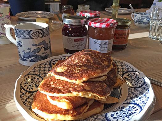 pancakes jam