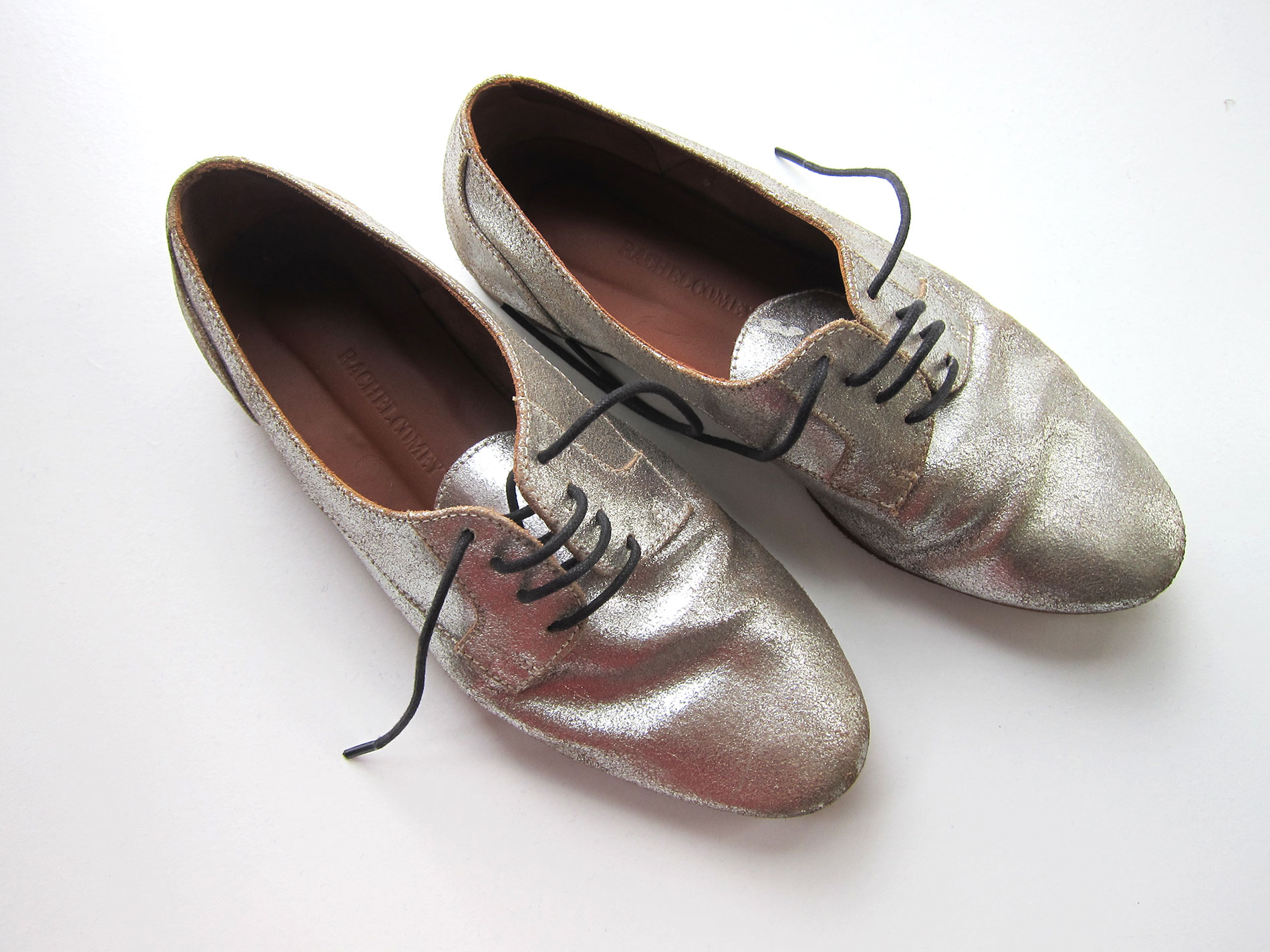 shoes-silver